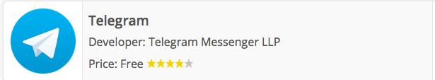 Descargar Telegram 4.1